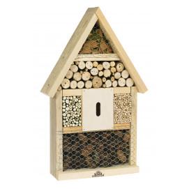 Maison des insectes en bois
