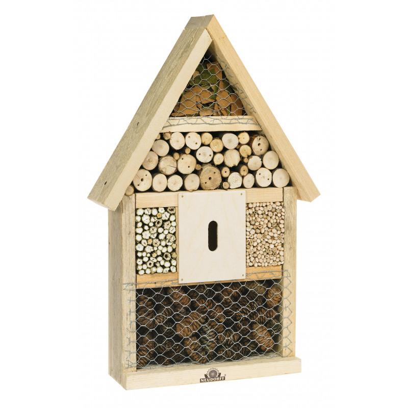 Abri maison des insectes en bois naturel chez jardin et saisons - Maison a insectes fabrication ...