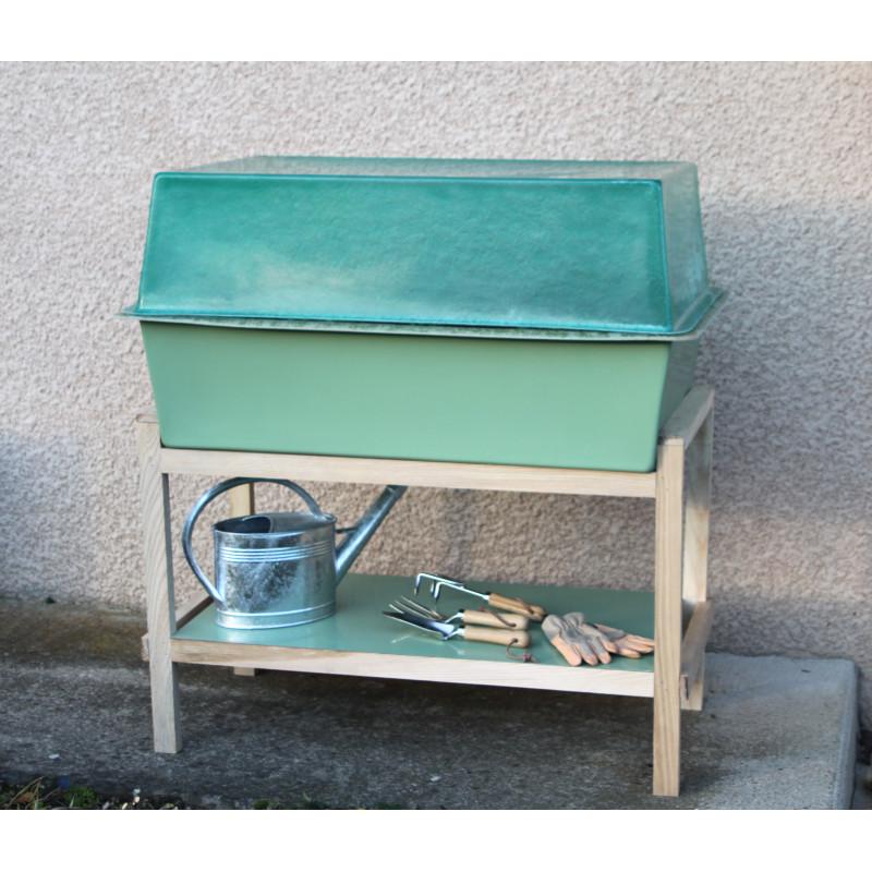 faire un jardin un potager en hauteur jardin et saisons. Black Bedroom Furniture Sets. Home Design Ideas