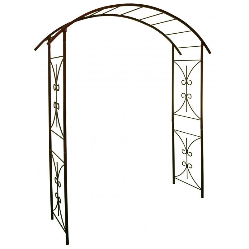 Votre arche de jardin double volut en acier jardin et - Arche metallique jardin ...