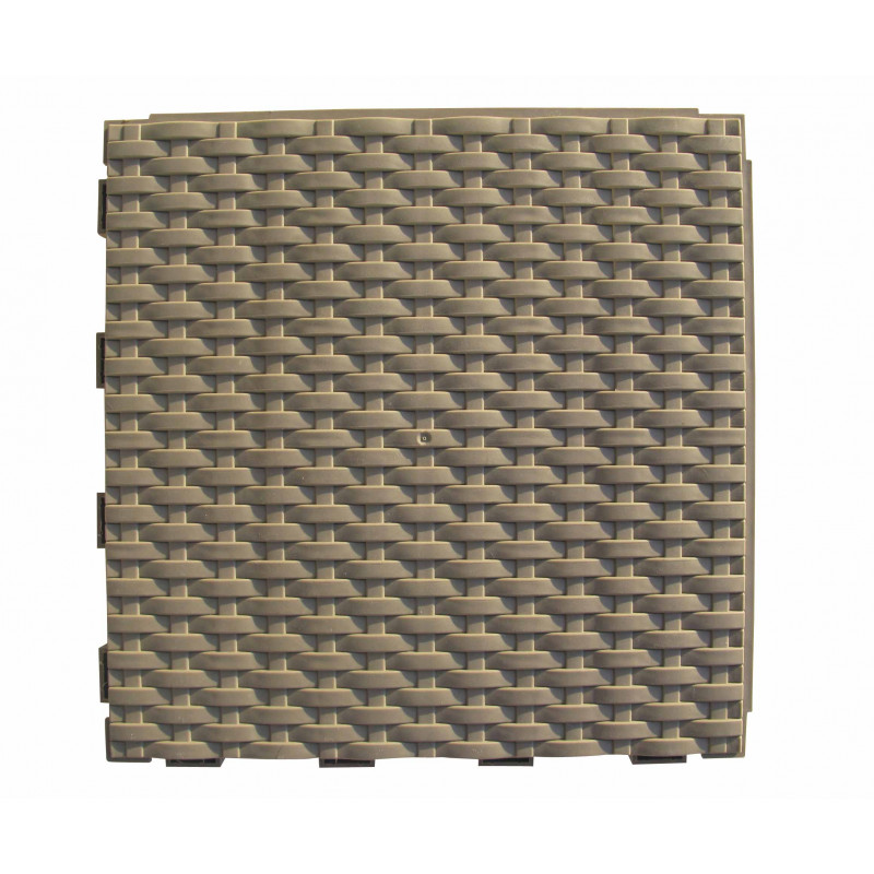 dalle de jardin clipsable tress e brun argile jardin et saisons. Black Bedroom Furniture Sets. Home Design Ideas