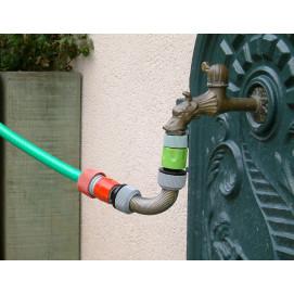 Raccord anti-cassure tuyau d'arrosage