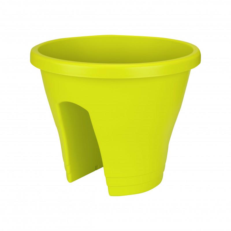 pot de fleurs vert anis