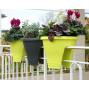 Pot de fleurs corsica vert anis