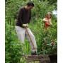 Gants de jardinage Femme en cuir hydrofuge