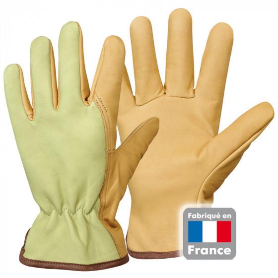 gants jardinage pour homme en cuir hydrofuge de jardin et. Black Bedroom Furniture Sets. Home Design Ideas