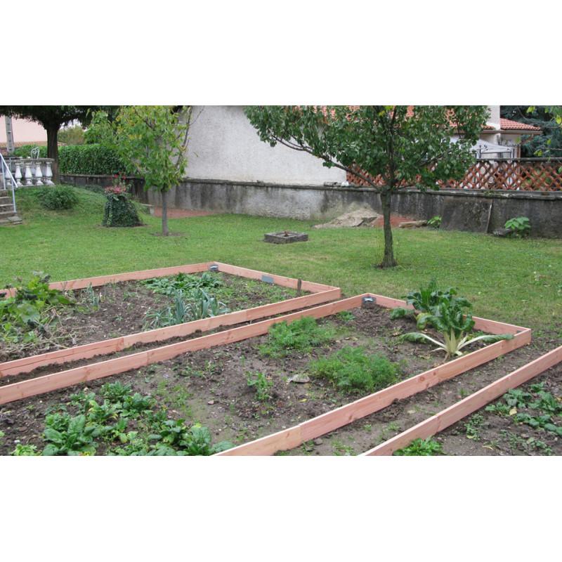 Votre bordure de jardin en bois 1,30 m chez Jardin et Saisons