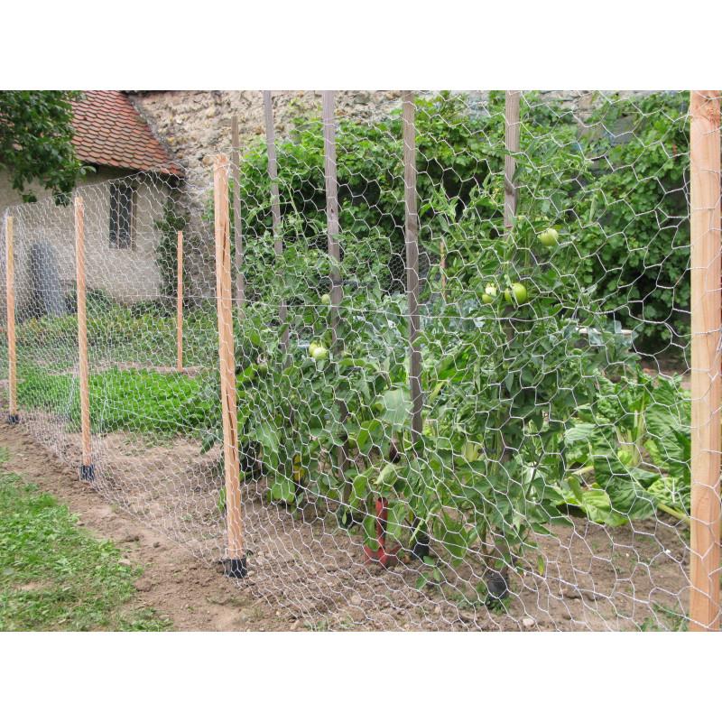 Kit clôture de jardin 10 m - Jardin et saisons