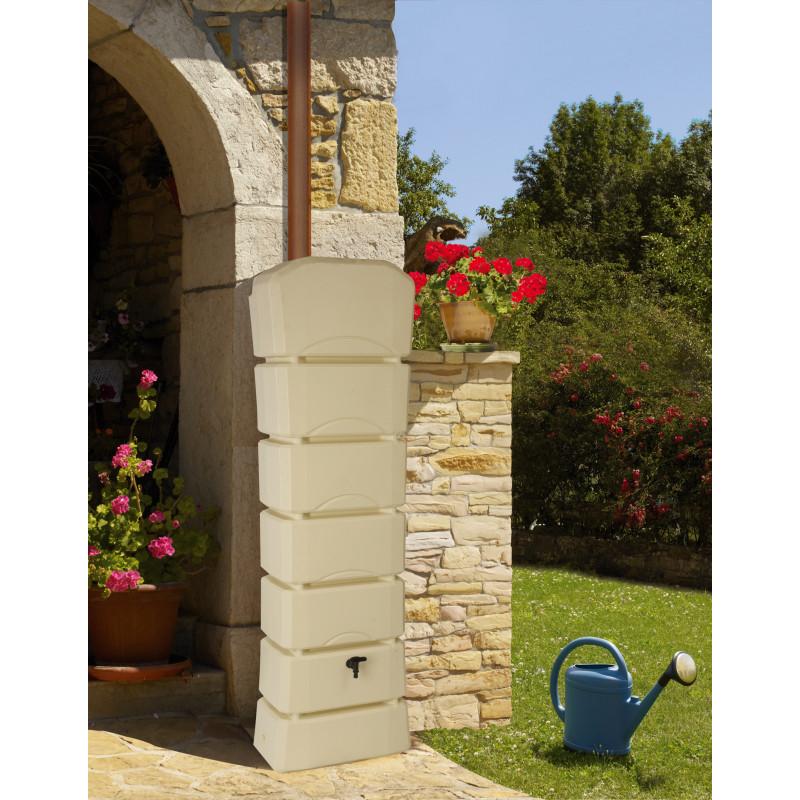 R serve d 39 eau de pluie murale 300 litres jardin et saisons - Reserve d eau de pluie ...