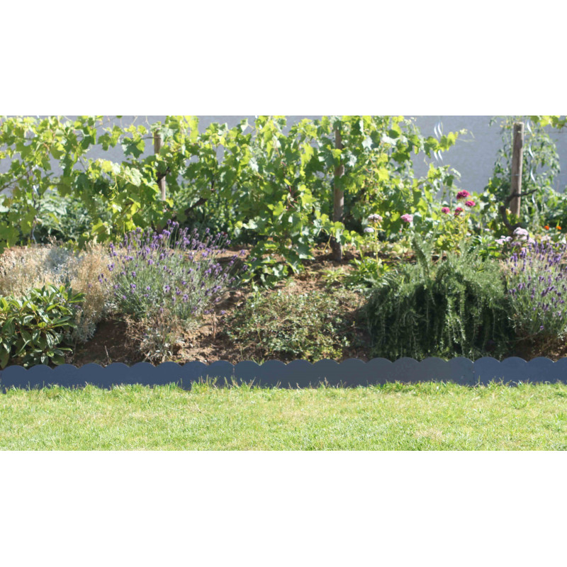 Bordure de jardin color e en m tal - Bordure metallique jardin ...