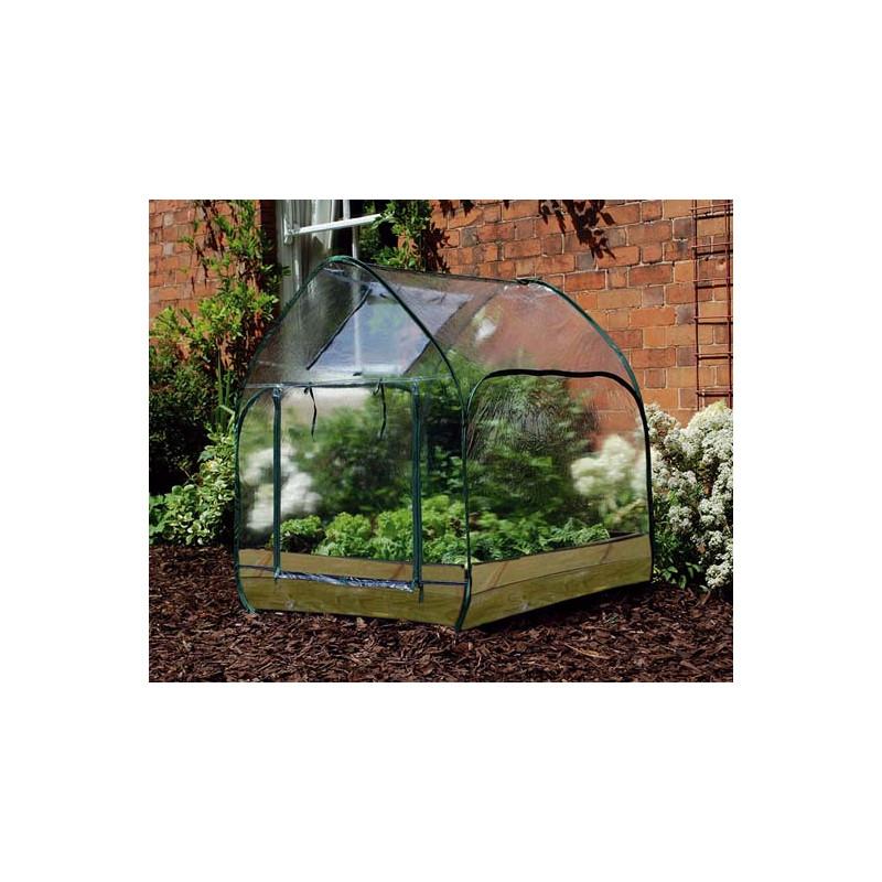 Serre de jardin pop up jardin et saisons for Installer une serre de jardin