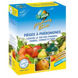 Piège à phéromone contre le ver des pommes et poires (les 2)