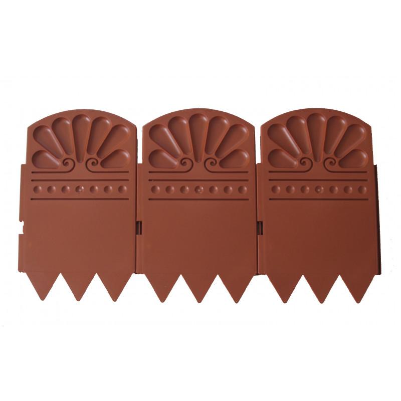 bordure de jardin en plastique de couleur marron par jardin et saisons. Black Bedroom Furniture Sets. Home Design Ideas