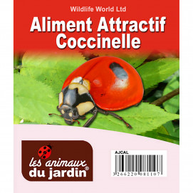 Aliment attractif à coccinelles