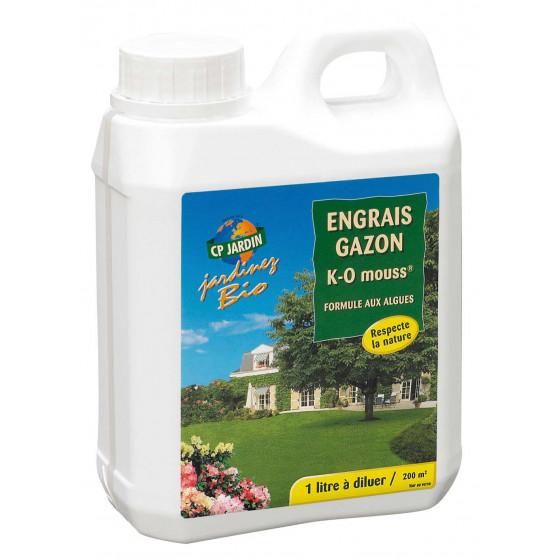 Engrais gazon naturel 1 litre