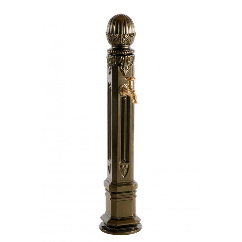 borne fontaine en fonte griffon vieux bronze. Black Bedroom Furniture Sets. Home Design Ideas