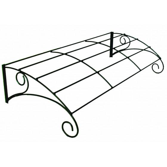 marquise auvent de porte d 39 entr e en acier chez jardin et. Black Bedroom Furniture Sets. Home Design Ideas