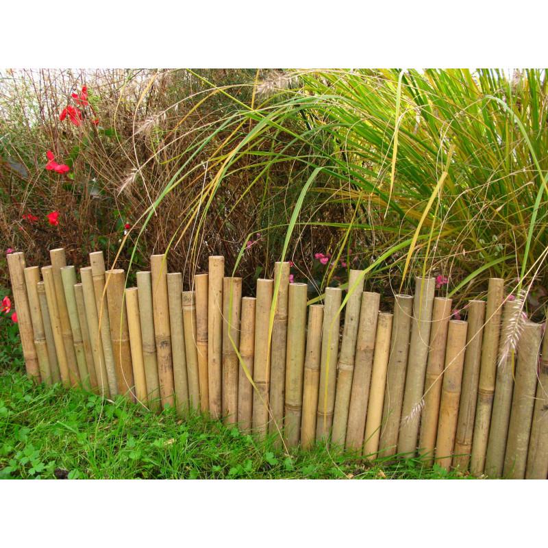 Votre gamme de bordure de jardin en plastique bois et bambou