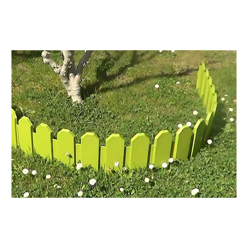 bordure de jardin plastique vert country jardin et saisons. Black Bedroom Furniture Sets. Home Design Ideas