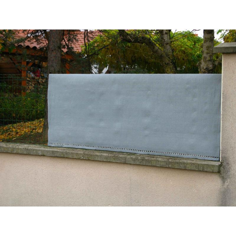 brise vue gris 10 m x 1 50 m. Black Bedroom Furniture Sets. Home Design Ideas