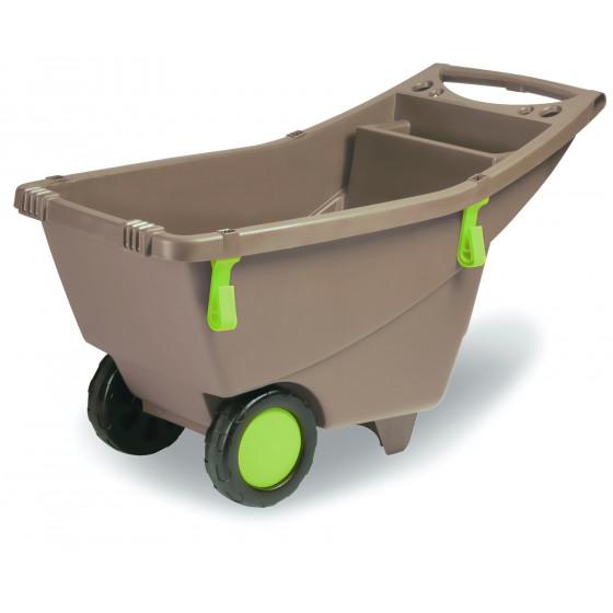 chariot brouette de jardin 140 litres jardin et saisons