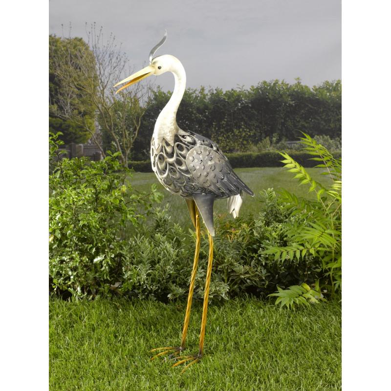 Oiseau d coratif solaire et lumineux pour la d coration du for Jardinetsaisons