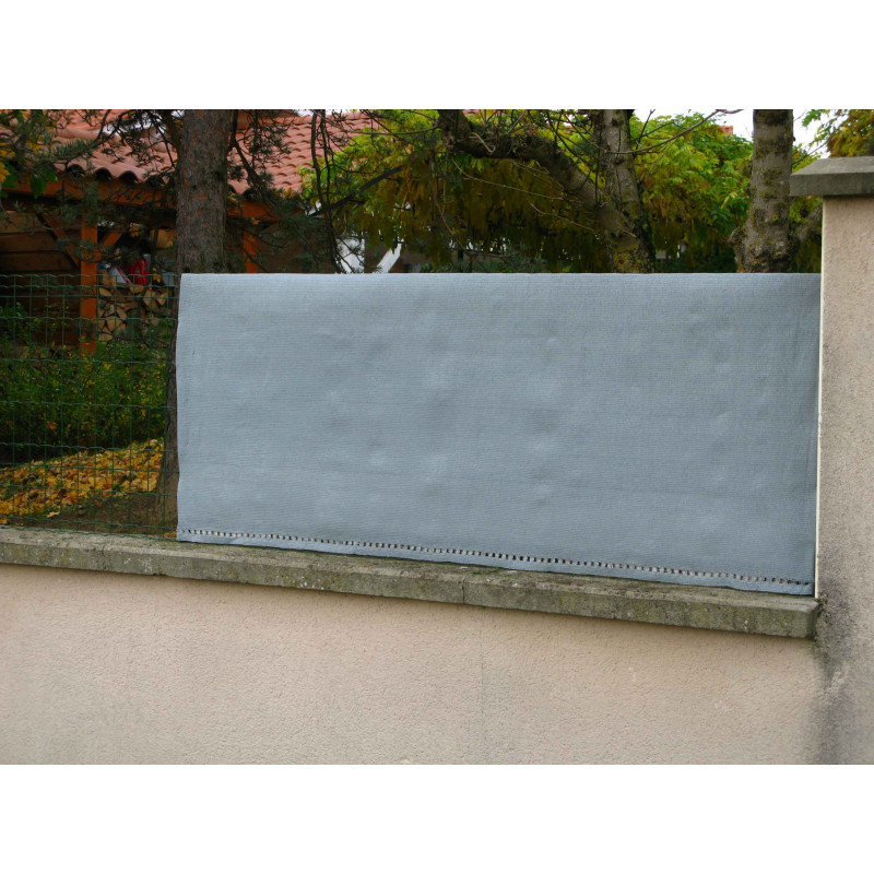 brise vue gris 5 m x 1 20 m. Black Bedroom Furniture Sets. Home Design Ideas