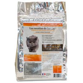Croquette Premium pour chat adulte 3 kg