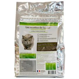 Croquette Premium chat adulte stérilisé 3 kg