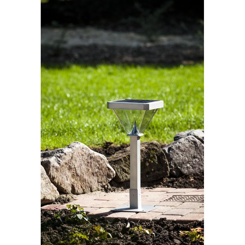 Lampadaire de jardin solaire led 155 cm jardin et saisons - Lampadaire de jardin solaire ...