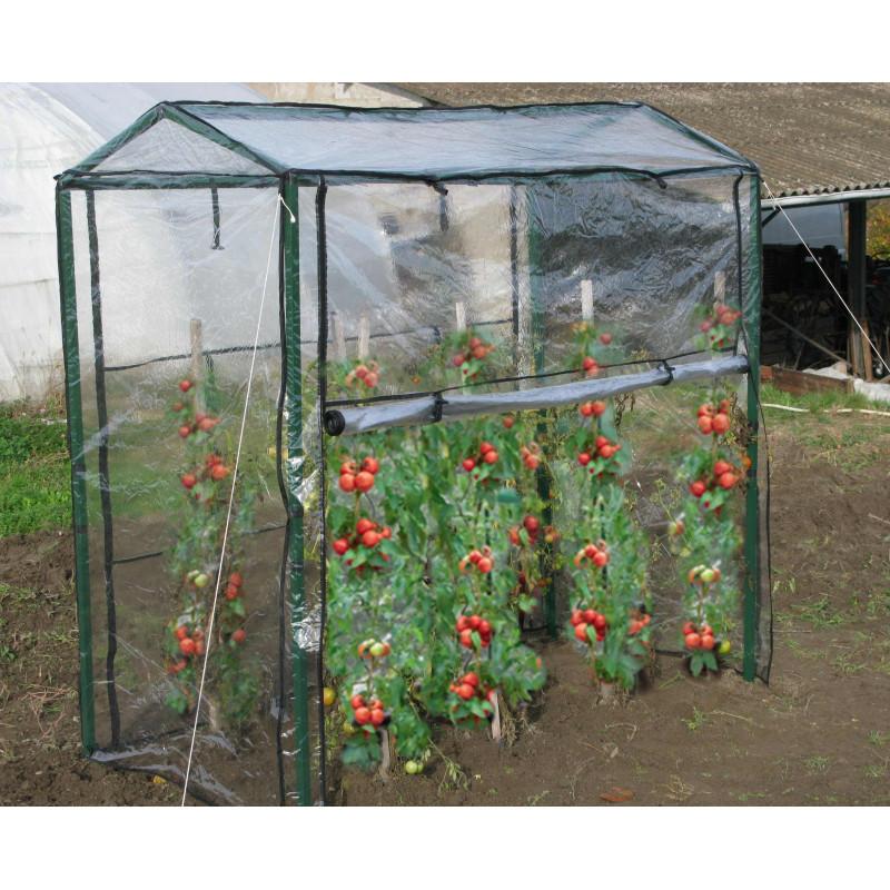 Serre tomates 2 x 1 x 1 8 m jardin et saisons - Cultiver sous serre et tunnel plastique ...