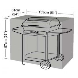 Housse de protection noire barbecue