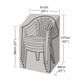 Housse de protection noire 4 chaises