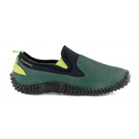 Chaussure de jardin néoprène vert homme et femme