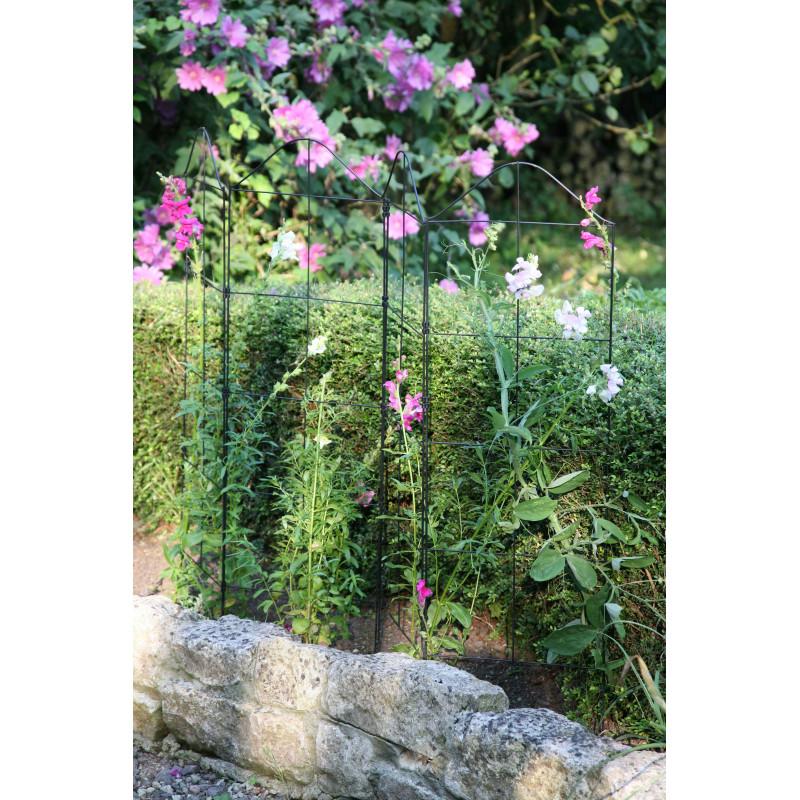 Treillage Plante Grimpante : support treillis et tuteur plante grimpante jardin et saisons ~ Dode.kayakingforconservation.com Idées de Décoration