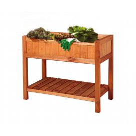 Bac potager surélevé en bois