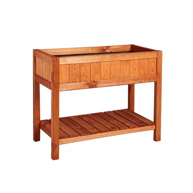 bac potager sur pied un potager en hauteur. Black Bedroom Furniture Sets. Home Design Ideas