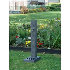 Craquez sur la fontaine de jardin en fonte Dommartin gris Pixel