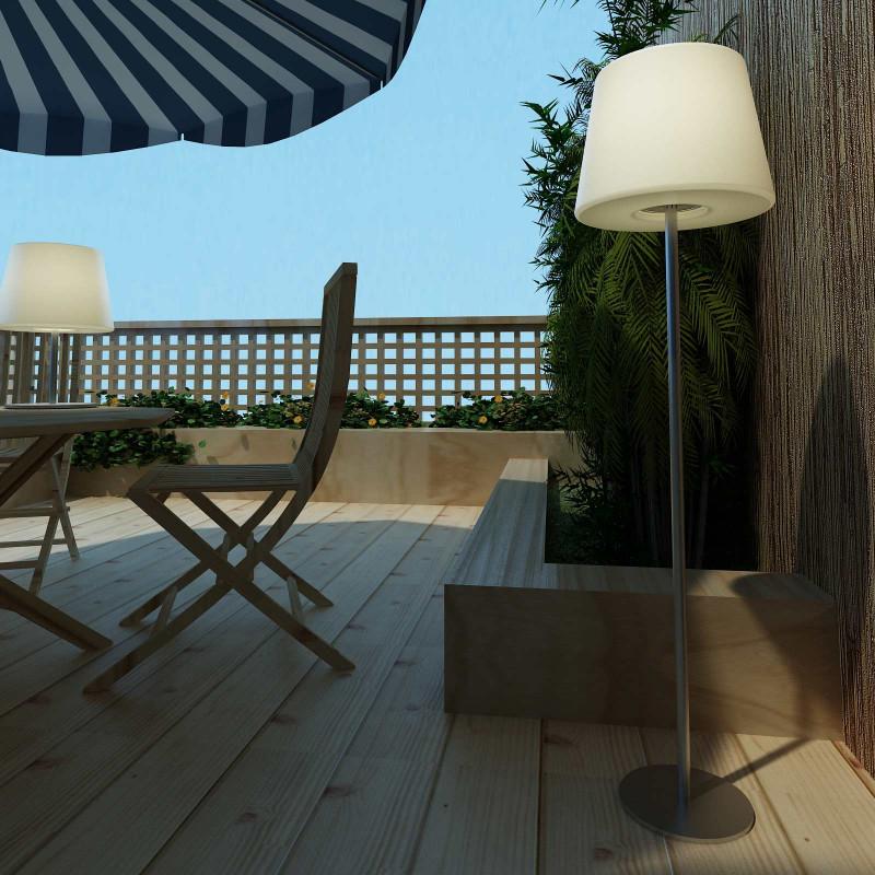 Lampadaire design ext rieur et int rieur for Lampadaire exterieur design