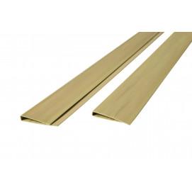 Baguette de finition 3 m aspect bambou