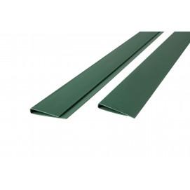 Baguette de finition 3 m vert sapin