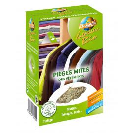Piège à mites textile naturel (les 2)