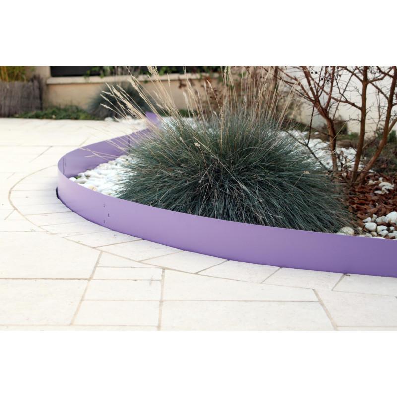 Bordure de jardin en m tal color e for Bordure jardin acier