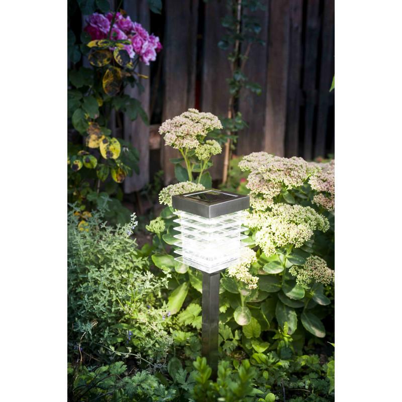 Led Jardin Inox De Détecteur Et Mouvement Solaire Avec Lampe Saisons MVpqUSz