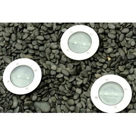 Spots solaires LED encastrables (les 3)