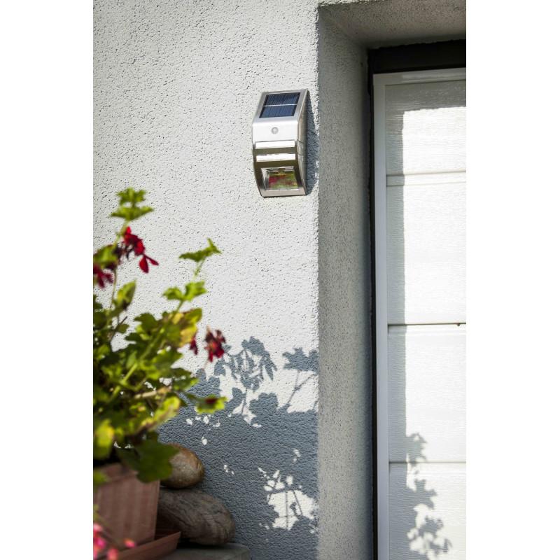 Eclairage solaire mural exterieur for Applique murale solaire exterieur avec detecteur