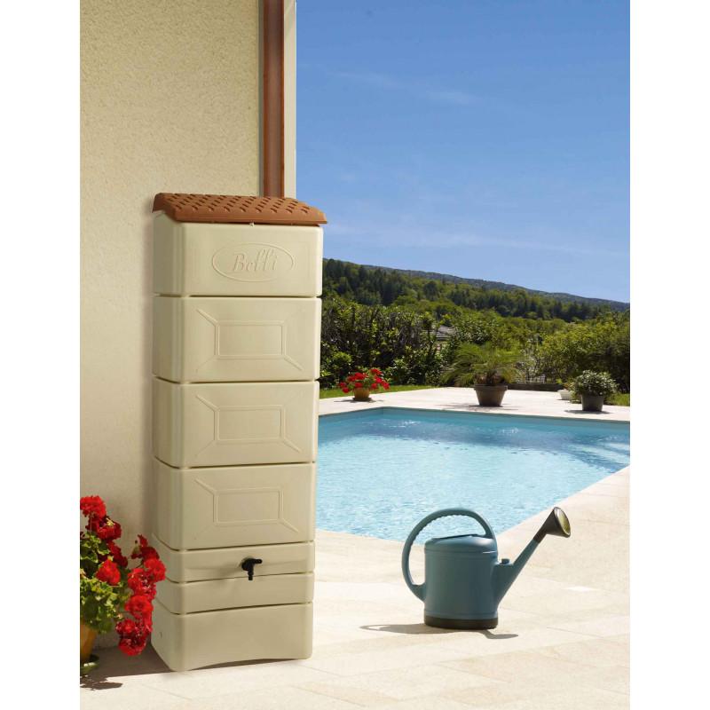 r cup rateur d 39 eau de pluie mural 300 litres jardin et saisons. Black Bedroom Furniture Sets. Home Design Ideas