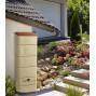 Réserve d'eau de pluie murale beige 300 litres