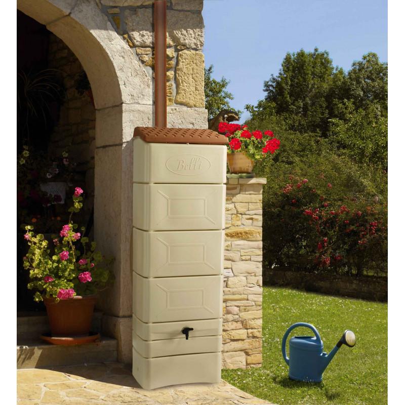 r cup rateur d 39 eau de pluie mural 300 litres jardin et. Black Bedroom Furniture Sets. Home Design Ideas