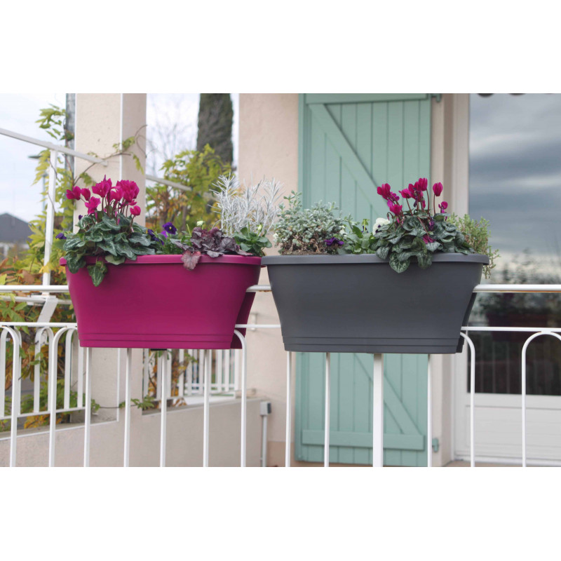 fixation jardiniere balcon jardinire pot fleur deroma jardinire monokit bellavista xx with. Black Bedroom Furniture Sets. Home Design Ideas